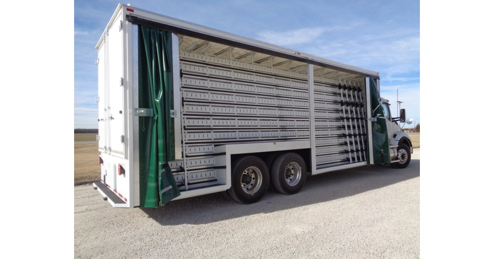 Unruh Fab Kansas Glass Transporting Curtainside Bodies Misc 22