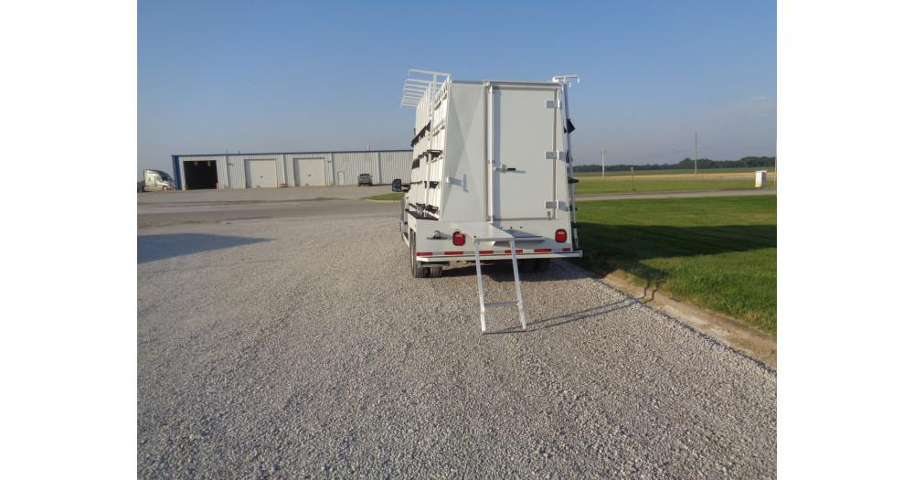 Unruh Fab Kansas Glass Transporting Planet Granite Enclosed Steel 6