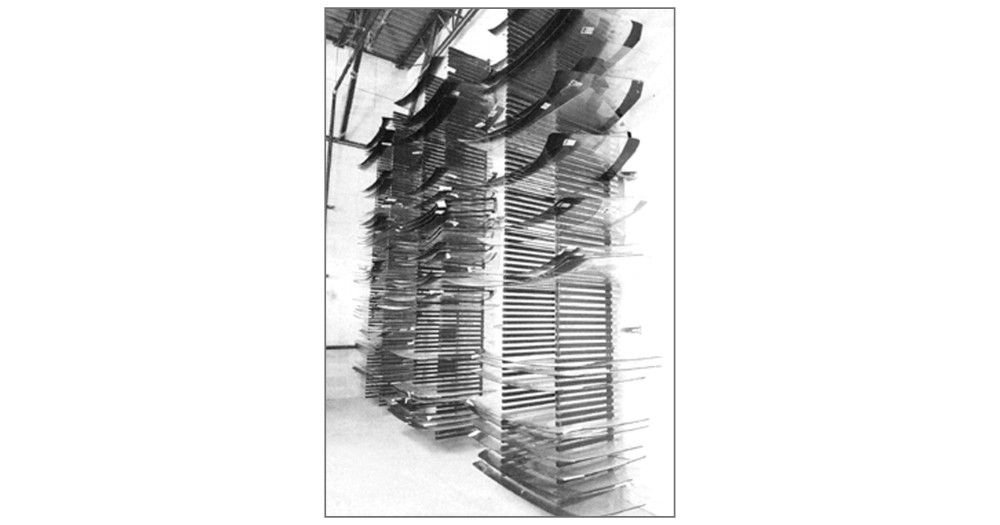Unruh Fab Kansas Glass Transporting Windshield Carts Racks WR84