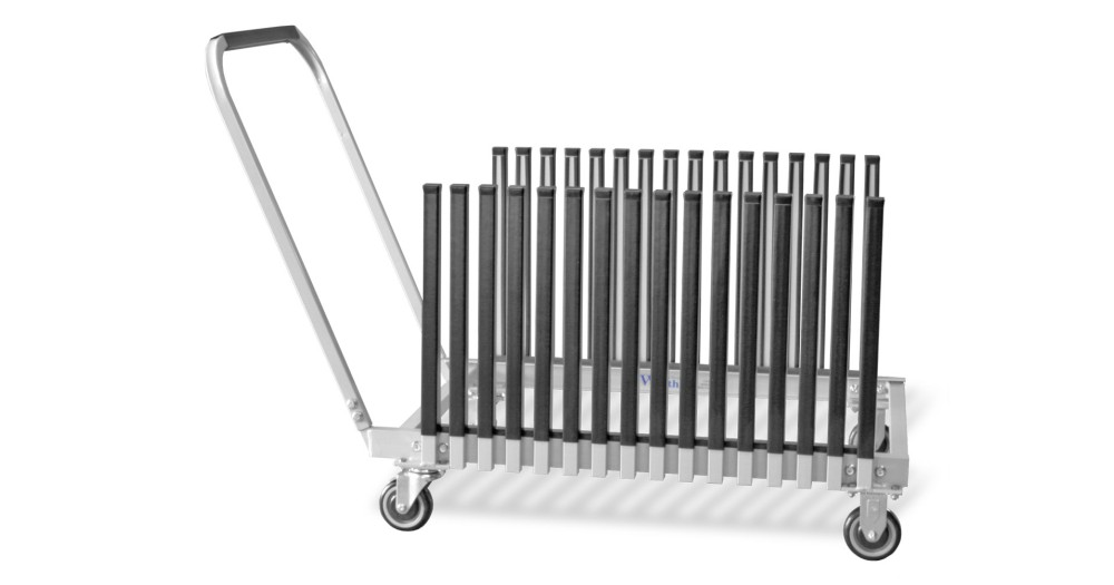 Unruh Fab Kansas Glass Transporting Windshield Carts Racks GC15