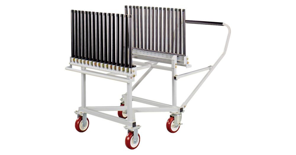 Unruh Fab Kansas Glass Transporting Windshield Carts Racks GC15E