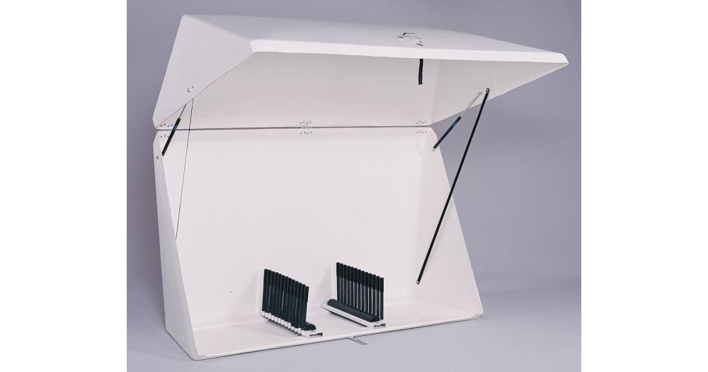 Unruh Fab Kansas Glass Transporting Drop Box 2