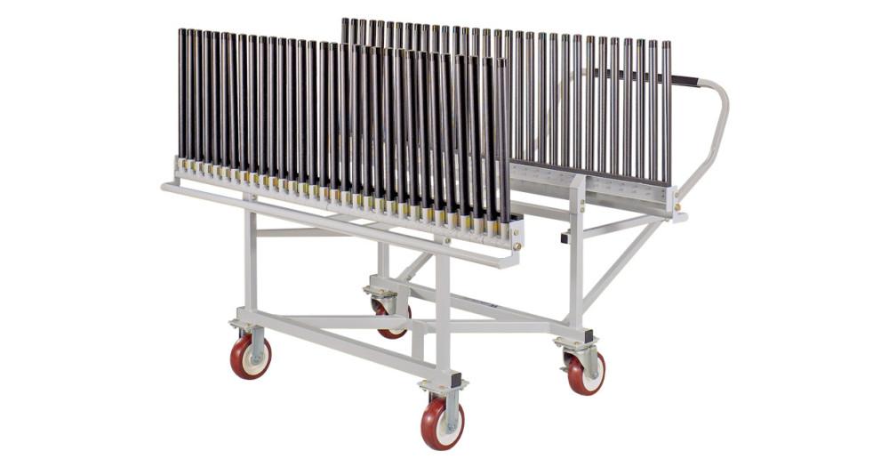 Unruh Fab Kansas Glass Transporting Windshield Carts Racks GC30E