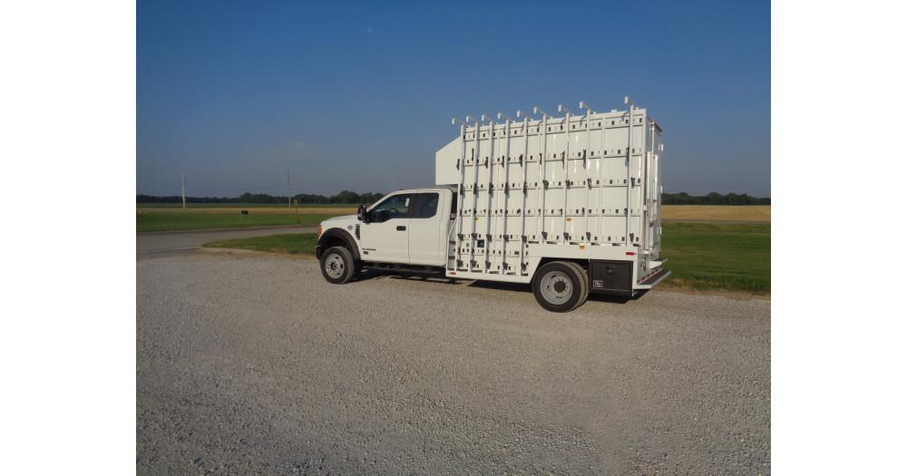 Unruh Fab Kansas Glass Transporting Planet Granite Enclosed Steel 2