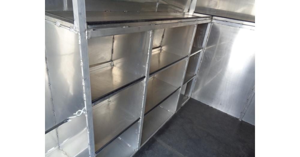Unruh Fab Kansas Glass Transporting Workhorse Aluminum Enclosed Body 51