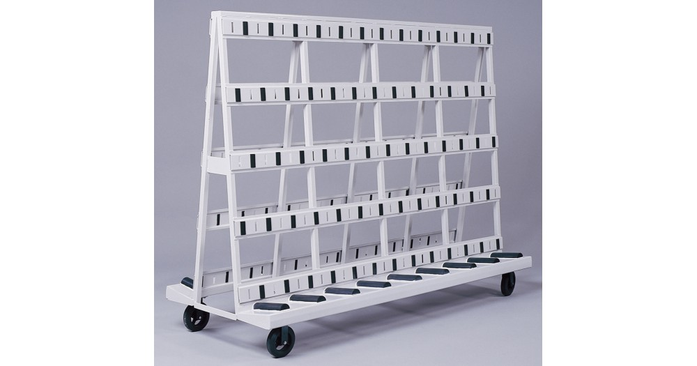 Unruh Fab Kansas Glass Transporting A Frame Carts & Racks 1