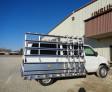 Unruh Fab Kansas Stone Transporting Double Sided Aluminum Van Rack 2