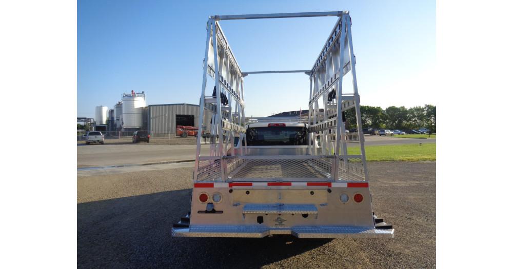 Unruh Fab Kansas Glass Transporting Pickup Racks Aluminum Misc 8