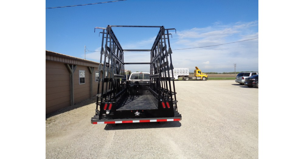 Unruh Fab Kansas Glass Transporting Steel 12ft Bumper Hitch 2