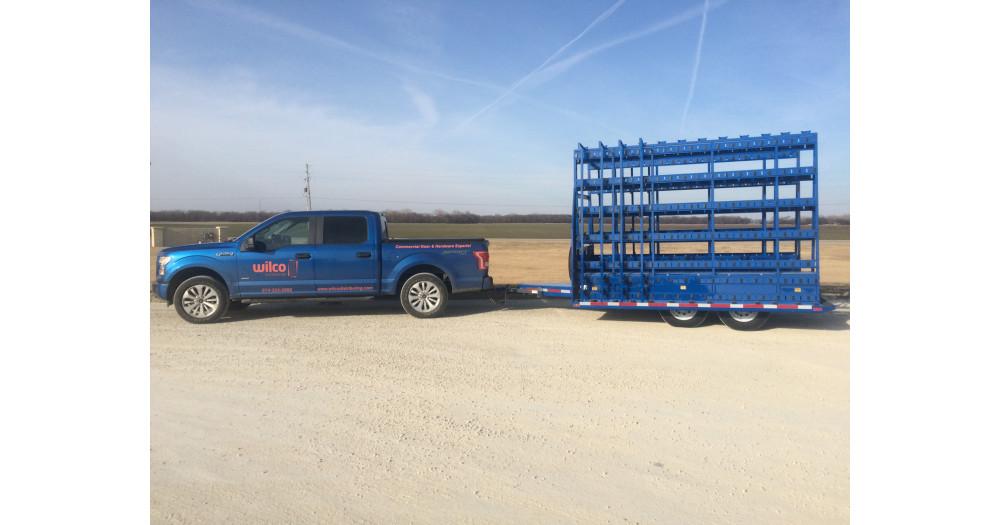 Unruh Fab Kansas Glass Transporting Bumper Hitch Trailers 23